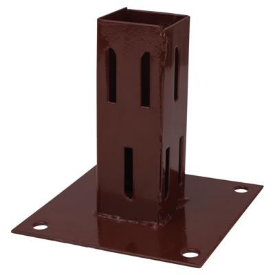 Powapost® Fence Post Bolt Down Shoe - Easy Grip - 75mm