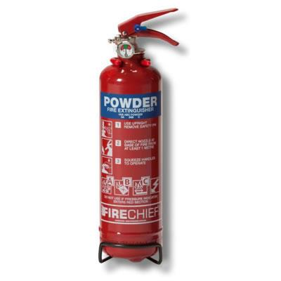 Dry Powder Fire Extinguisher - 1kg)