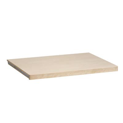 elfa® Solid Shelf - 1212 x 437mm - Birch