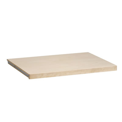 elfa® Solid Shelf - 1212 x 437mm - Birch