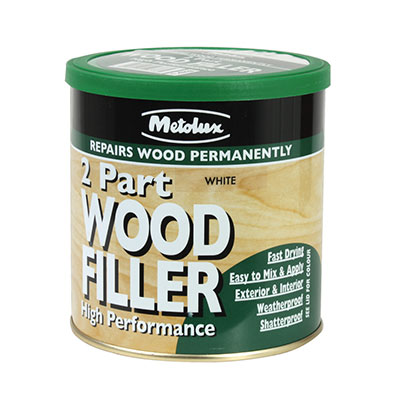 Timbafil 2 Part Styrene Free Wood Filler - 700ml - White)