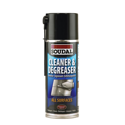 Soudal Cleaner and Degreaser - 400ml)