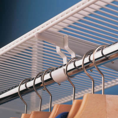elfa® Ventilated Shelf - 607 x 305mm - Platinum