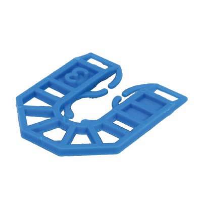 Horseshoe Packer - 55 x 43 x 3mm - Blue - Pack 200)