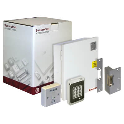 Standalone Access Control Kit - With Keypad and Electric Strike)