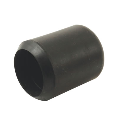 Rubber Chair Ferrules - 22mm - Black - Pack 50