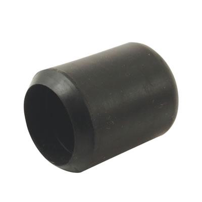 Rubber Chair Ferrules - 22mm - Black - Pack 50