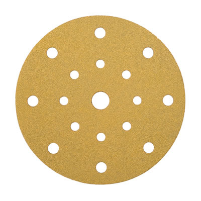 Mirka Gold Disc 17 Hole Festool Multi Jetstream - Grit 120