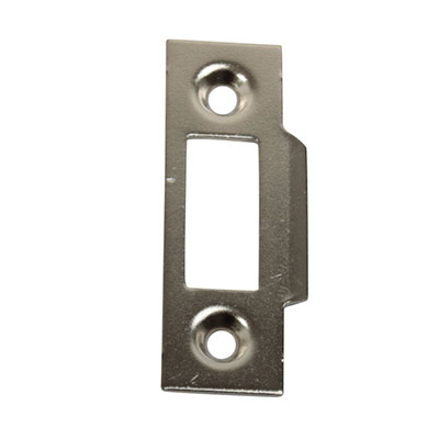 Slam Type Mortice Strike - 50 x 15mm - Chrome Plated - Pack 10)