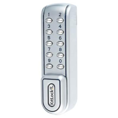 Codelocks KL1200 Electronic Lock - Stainless Steel)