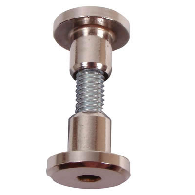 Hex Headed Bolt-Through Fixings - 17-19mm Panels - Pack 10)