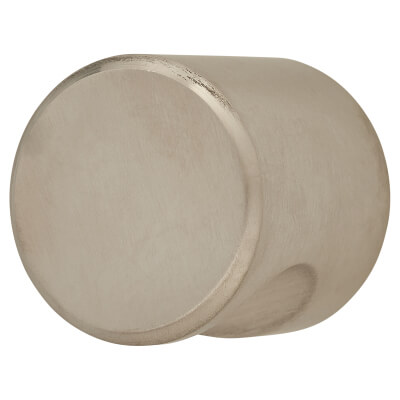 Altro Solid Turned Dome Cabinet Knob - 30mm - Satin Stainless Steel