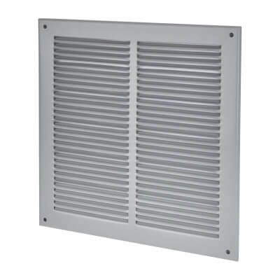 Vent Cover - 290 x 290mm to suit block 250 x 250mm - Silver)