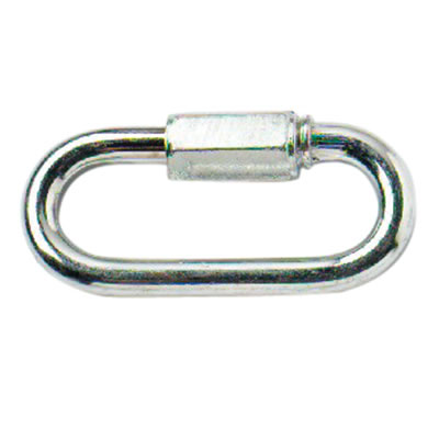 Quick Link - 8mm - Zinc Plated - Pack 10)
