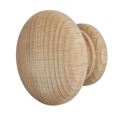 Touchpoint Cabinet Knob - 50mm - Beech