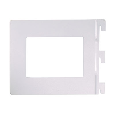 Aspect Book End - 142 x 118mm - White)