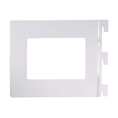 Aspect Book End - 142 x 118mm - White