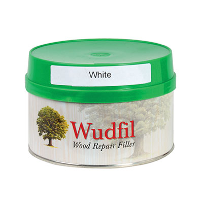 Wudfil Original Wood Repair Filler - 250ml - White)