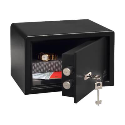 Burg Wächter P 1 S PointSafe Key Operated Safe - 180 x 280 x 200mm - Black)