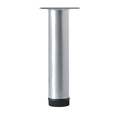 Cabinet Leg - 32 x 800mm - Silver Grey