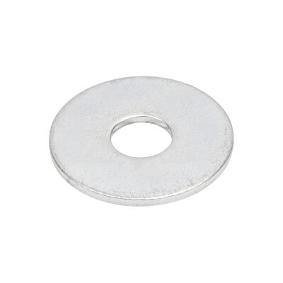 Penny Repair Washer - 19mm Diameter x 6mm Hole - Zinc Plated - Pack 10