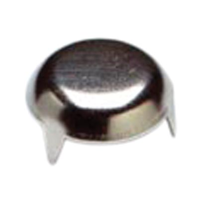 Pronged Furniture Glide - 25mm - Bright Zinc Plated - Pack 50