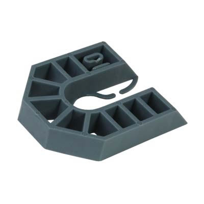 Horseshoe Packer - 55 x 43 x 10mm - Grey - Pack 200