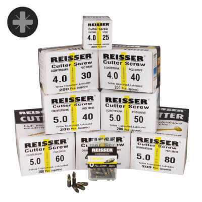 Reisser Cutter Trade Case - Pack 1600)