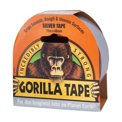 Gorilla Super Strong Tape - 48mm x 11m - Silver)