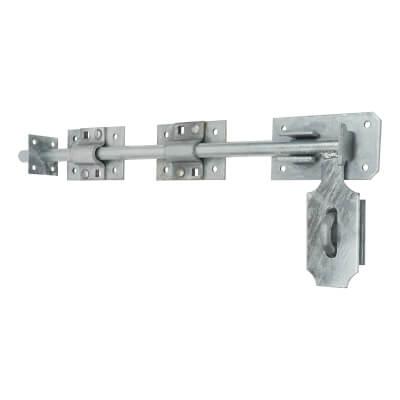 Heavy Duty Garage Door Bolt - 450mm - 316 Stainless Steel
