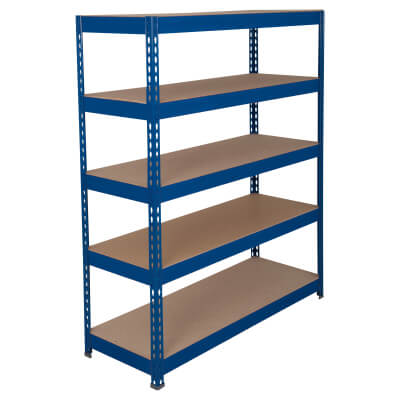 6 Shelf Heavy Duty Shelving - 250kg - 2000 x 1200 x 600mm
