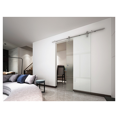 VetroGlide Glass Sliding Door Kit - Right Hand)