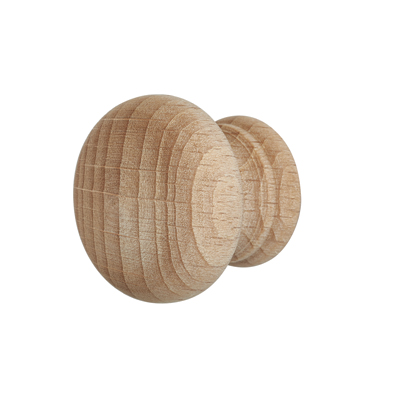 Touchpoint Cabinet Knob - 30mm - Beech