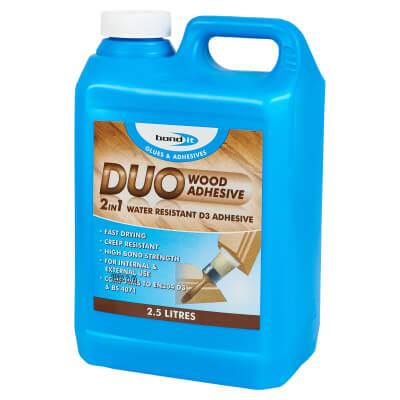Bond It Duo PVA Wood Glue - 2500ml