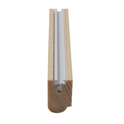 Timber Staff Bead - 25 x 15mm - Pack 10 x 3000mm - Natural)