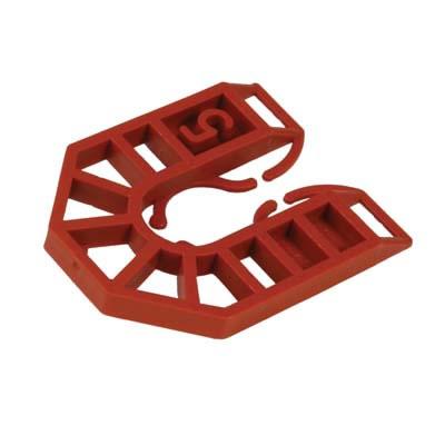 Horseshoe Packer - 55 x 43 x 5mm - Brown - Pack 200