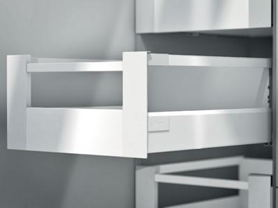 Blum Tandembox Antaro Internal Drawer Pack - (H) 206mm x (D) 450mm x (W) 500mm - Grey
