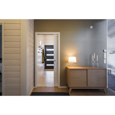 Eclisse Single Pocket Door Kit - 125mm Finished Wall - 626 x 2040mm Door Size