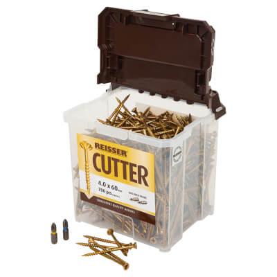 Reisser Cutter Tub - 4.0 x 60mm - Pack 700