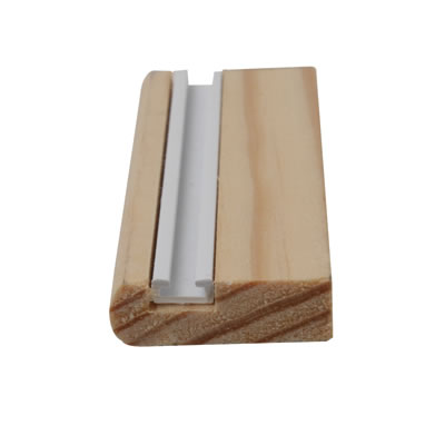 Timber Parting Bead - 7 x 25mm - Pack 10 x 3000mm - Natural)