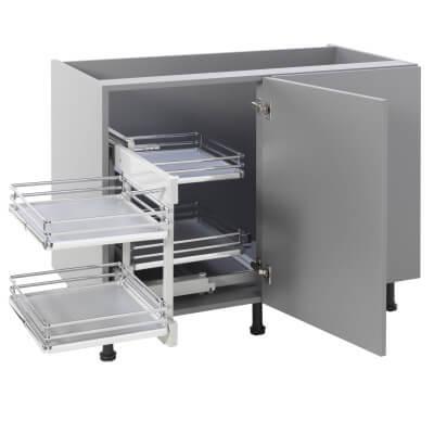 Kitchen Cabinet Storage Blind Corner Optimiser Plus - Cabinet Width 900mm