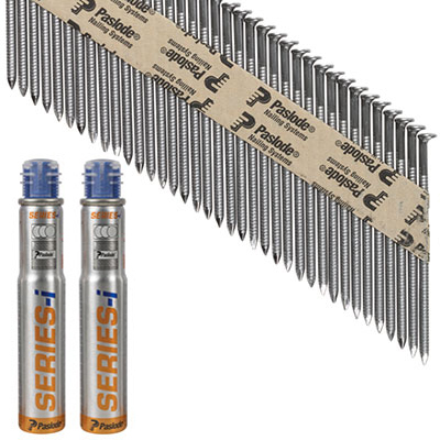 Paslode IM90I Nail - First Fix - 90 x 3.1mm - Bright - Pack 2500