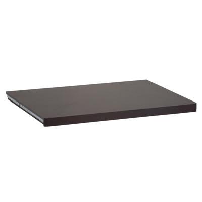 elfa® Solid Shelf - 605 x 437mm - Walnut