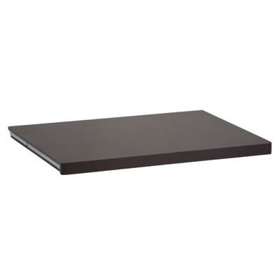 elfa® Solid Shelf - 605 x 437mm - Walnut