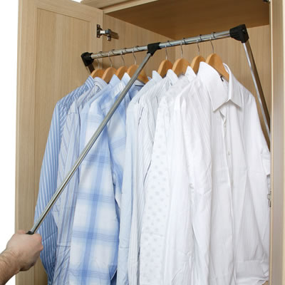 Wardrobe Rail - 800-1100mm)