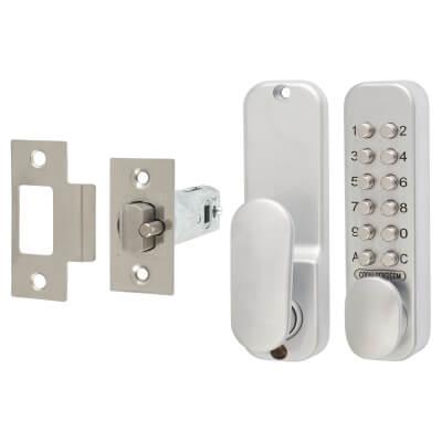 Codelock CL160 Mechanical Easycode Lock - Silver