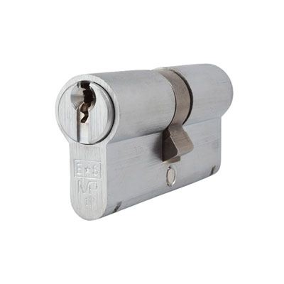 Eurospec MP10 - Euro Double Cylinder - 32[k] + 32mm - Satin Chrome  - Keyed Alike