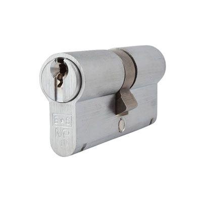 Eurospec MP10 - Euro Double Cylinder - 32[k] + 32mm - Satin Chrome  - Master Keyed