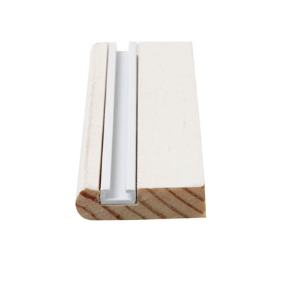 Timber Parting Bead - 8 x 25mm - Pack 10 x 3000mm - Primed White)