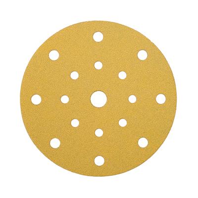 Mirka Gold Discs 17 Hole Multi Format - 125mm - Grit 60 - Pack 50)